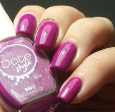 The Clockwise Nail Polish: Dote Sexy