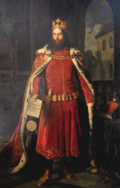 """Casimir III of Poland (30 April 1310 – 5 November 1370) reigned as the King of Poland from 1333 to 1370. He was the son of King Władysław I (""""the Elbow-high"""") and Duchess Hedwig of Kalisz, and the last Polish king from the Piast dynasty."""