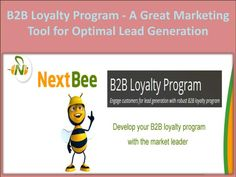 NextBee\'s B2B loyalty program is robustly designed to engage your customers for optimal lead generation. It includes many smart and advance features to convert your customers into the front line brand promoters and improve your business presence in both offline and online channels through attractive loyalty programs.