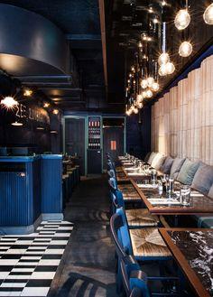 Suvlaki (Soho, London) AfroditiKrassa - Restaurant & Bar Design