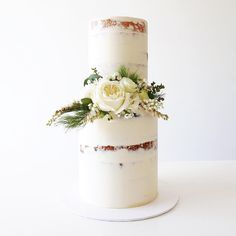 Semi-Naked Cake by Whipped Cake Co.
