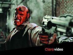 Un héroe feo, rojo, con cuernos y cola. Y es la única esperanza del planeta tierra. #Hellboy