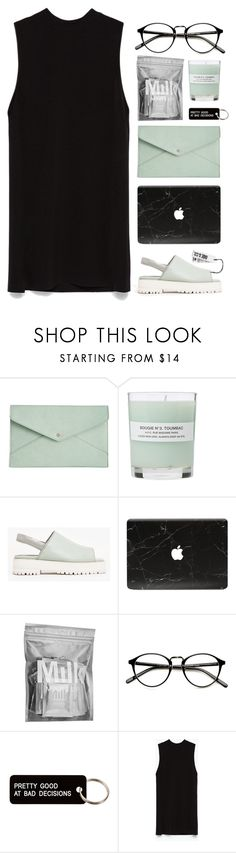 """""""#1010"""" by maartinavg ❤ liked on Polyvore featuring Danielle Nicole, A.P.C., Wood Wood, MILK MAKEUP, Various Projects and Zara"""