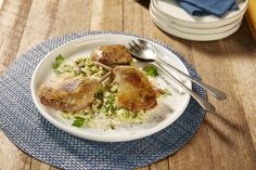 Guillaume Brahimi's duck confit with brussels sprout, speck and mustard cream