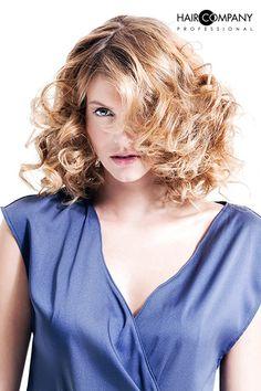 Hair Company Professional Exclusive Collection // Hair: Hair Company Professional Academy & Club // Photo: Cristian Bolis // Mua: Renato Giorda // Stylist: Hair Company Professional Exclusive Collection, Stylists, V Neck, Club, Hair, Women, Fashion, Moda, Fashion Styles
