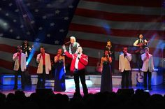 Clay Cooper's Country Express during the patriotic segment of the show! It's a must see! http://claycoopertheatre.com