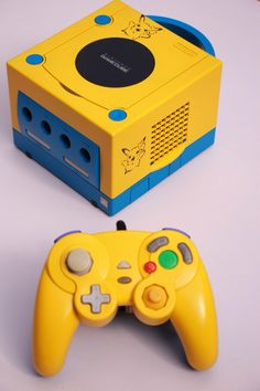Nintendo GameCube Custom pokemon pikachu console by retrospective22 on Etsy https://www.etsy.com/listing/189027674/nintendo-gamecube-custom-pokemon-pikachu
