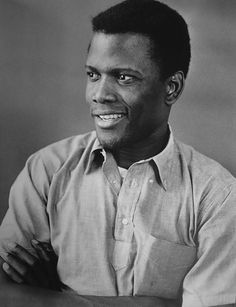 Sidney Poitier, American actor.