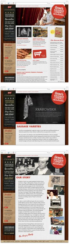 Gene's Sausage Shop by Knoed