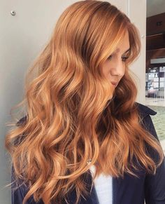 Reddish Blonde Hair, Red Hair With Blonde Highlights, Strawberry Blonde Highlights, Red To Blonde, Auburn Blonde Hair, Ginger Blonde Hair, Dark Hair, Color Highlights, Copper Blonde Hair