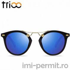 Ochelari de soare brandul Trioo Mirrored Sunglasses, Model, Scale Model, Models, Template, Pattern, Mockup, Modeling