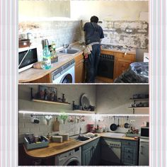 Kitchen reconstruction