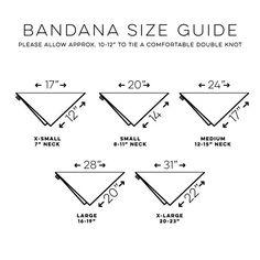 Image result for To Make Dog Bandana Pattern