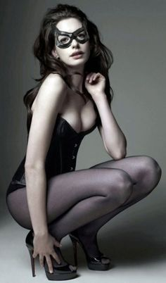 Anne Hathaway..if you haven't seen the dark knight...go now!