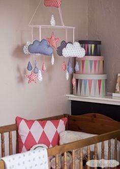 Kinderzimmerdeko: Baby-Mobile basteln