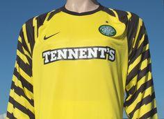Celtic F.C. Nike Home Goalkeeper Shirt Season 2010-2011 Player Issue