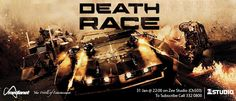 Death Race - Ex-con Jensen Ames is forced by the warden of a notorious prison to compete in our post-industrial world's most popular sport: a car race in which inmates must brutalize and kill one another on the road to victory.