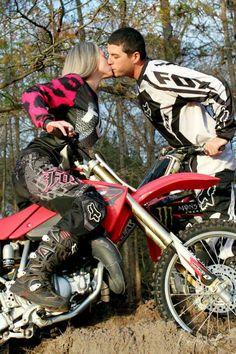 Motocross couple ♡