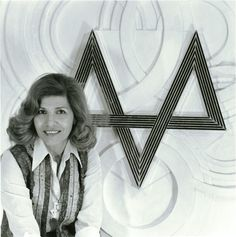 Monir Farmanfarmaian with her relief work, 1970s - Photo: Courtesy of the Artist and The Third Line