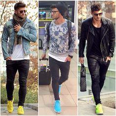 Pin by joe on outfits erkek günlük giyim, erkek moda, erkek Swag Style, Sport Fashion, Boy Fashion, Street Fashion, Diy Man, Stylish Men, Men Casual, Mode Hip Hop, Streetwear