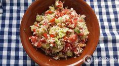 Kuskus z kalafiora ala tabbouleh Potato Salad, Grains, Menu, Rice, Potatoes, Health, Ethnic Recipes, Food, Tv