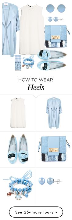 """Untitled #209"" by mgadom on Polyvore featuring River Island, MANGO, Chiara Ferragni, M&S, Sunday Somewhere and Accessory PLAYS"