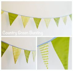 Country Green Bunting to hire from www.buntingbyjenny.com Bunting, Tapestry, Country, Green, Party, Collection, Home Decor, Hanging Tapestry, Garlands