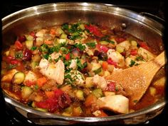 Sautéed chicken with ratatouille (from Dr. Mark Hyman's 10 Day Detox- page 302).