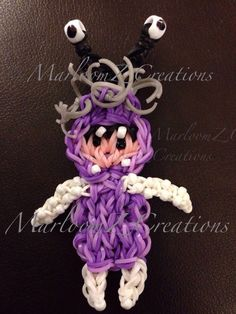 Boo from Monsters Inc loom band