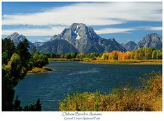 Oxbow Bend in Autumn by Greg Norrell from Grand Teton National Park. Prints start at $29. #Tetons #nature #photography