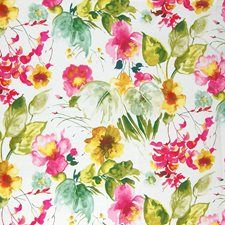 Springtime Floral Decorator Fabric by Greenhouse