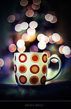 Bokeh Coffee (bokeh,coffee cup,colorful,coffee mug,colorful)