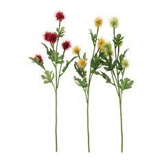 SMYCKA Flor artificial IKEA Tiene la misma frescura que una planta natural y conserva su belleza año tras año.