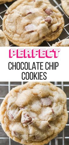 Actually Perfect Chocolate Chip Cookies Actually Perfect Chocolate Chip Cookies Sarah Fink Cookieeeesss! Actually Perfect Chocolate Chip Cookies Best Chocolate Chip Cookie Recipe Ever, Perfect Chocolate Chip Cookies, Chocolate Chip Recipes, Best Cookie Recipe Ever, Best Cookies Ever, Chocolate Chocolate, Healthy Chocolate, Fun Cooking, Cooking Tips