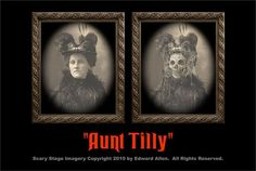 $9 Aunt Tilly Changing Portrait from The Holiday Barn