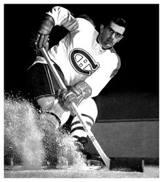"Ice Hockey History - Deaths 2000 - Joseph Henri Maurice ""The Rocket"" Richard was a French-Canadian professional ice hockey player who played for the Montreal Canadiens of the National Hockey League. Montreal Canadiens, Mtl Canadiens, Maurice Richard, Ice Hockey Players, Nhl Players, Hockey Sport, Hockey Puck, Hockey Mom, Montreal Ville"