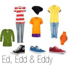 "Haha, who wants a bit of ""Ed, Edd & Eddy"" style?"