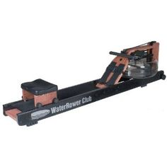 WaterRower Club Rowing Machine in Ash Wood with S4 Monitor (Sports)