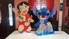 Lilo and stitch party decoration. for Sale in Los Angeles, CA - OfferUp Watermelon Birthday Parties, 1st Birthday Parties, Girl Birthday, Lilo En Stitch, Hawaiian Party Decorations, Hawaiian Birthday, Baby Shower Princess, Party Time, Stitching