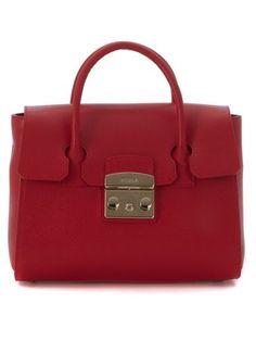 35326b03c1 FURLA Borsa A Mano Furla Metropolis In Pelle Rossa. #furla #bags # #