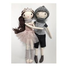 Cuddles...are good  .  .  #lola #lenny #dolls #cuddles #clothdolls #girls #boys #children #kidstoys #handmade #etsy #princess #nursery #kids #theselittletreasures