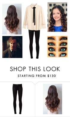 """Annabeth's birthday"" by harrypotalways ❤ liked on Polyvore featuring beauty, Paige Denim and H&M"