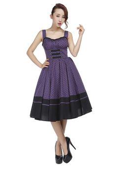 Tabbed Pinup Dress
