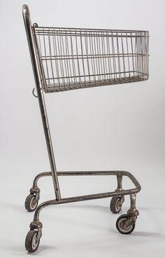"""DDR Museum - Museum: Objektdatenbank - """"Einkaufswagen"""" Copyright: DDR Museum, Berlin. Eine kommerzielle Nutzung des Bildes ist nicht erlaubt, but feel free to repin it!"""