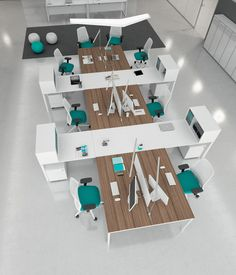 Buying Very Cheap Office Furniture Correctly Open Space Office, Bureau Open Space, Office Space Planning, Open Office Design, Bureau Design, Office Furniture Design, Office Interior Design, Office Setup, Office Workspace