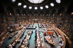 Biblioteca Nacional de Francia, París, Francia