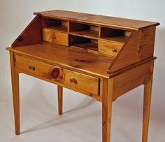 Shaker White Pine Writing Desk