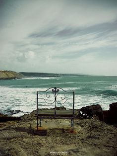 Maybe not so quiet with the thundering waves.....but a serene place of solitude.