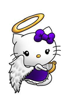 Hello Angel Kitty
