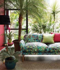 Matthew Williamson Jungle Beat Fabric | TM Interiors Limited